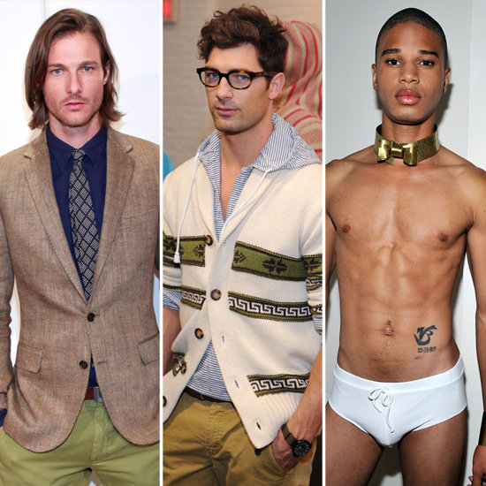 Who's Your Type? Male Model Edition