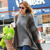 Olivia Wilde Wearing a Poncho