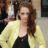 Kristen Stewart at Balenciaga Paris Fashion Week