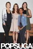 Jennifer Garner Teams Up With Ashley and Olivia to Talk Butter in NYC