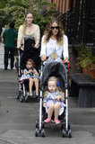 Sarah Jessica Parker and the twins had an outing together in NYC.