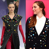 DIY: Jazz Up a Cardigan With Candy-Colored Gems  la Chanel