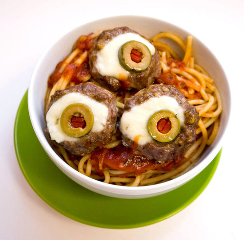 Eyeball Meatballs