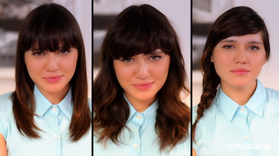 3 Easy Ways to Style Your Bangs