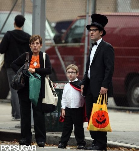 Paul Rudd's son, Jack, had grandma and dad by his side to trick-or-treat around NYC in 2009.
