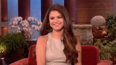Video: Selena Gomez Gets Spooked by Ellen and Talks Justin Bieber's Tour