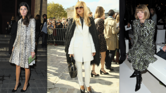 Rachel Zoe and Anna Wintour Bring Their Fashion Game to the Front Row
