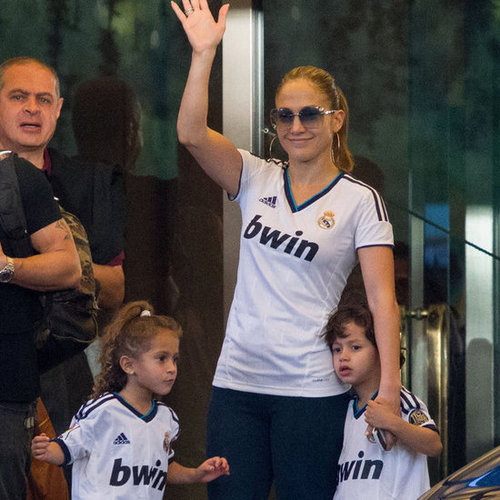 Jennifer Lopez and Twins Max and Emme in Spain | Pictures