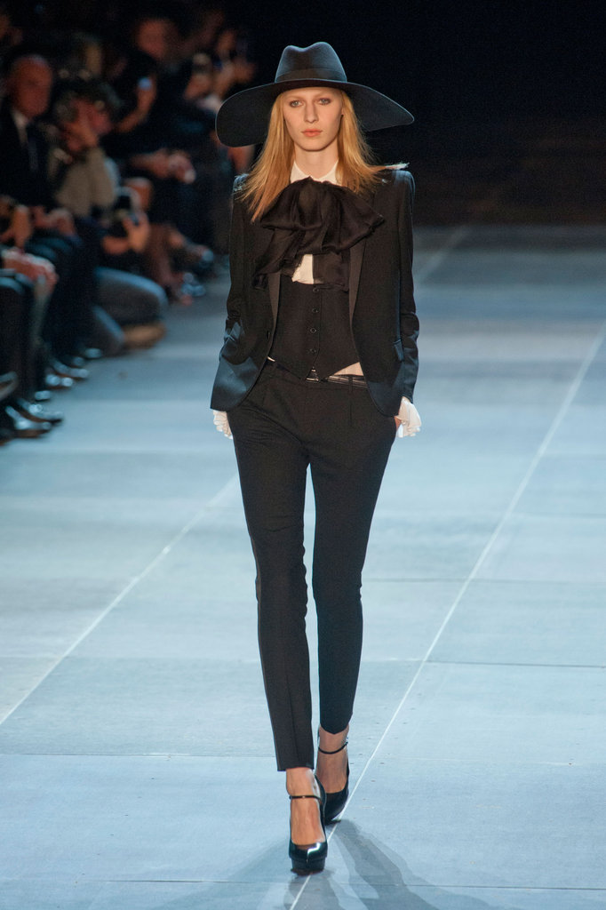 Saint Laurent Paris Spring 2013