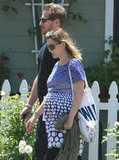 Drew Barrymore and Will Kopelman walked around Montecito days after their June 2012 wedding.