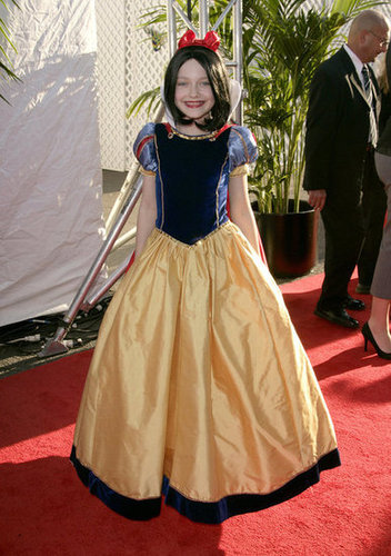 Dakota Fanning was an adorable Disney princess on an LA red carpet in 2006.