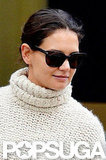 Katie Holmes went to Starbucks.