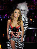 Audrina Patridge and Corey Bohan cozied up at a 2010 Halloween bash in Vegas.