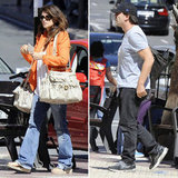 Penelope Cruz and Javier Bardem Mix Work and Play at Home in Spain