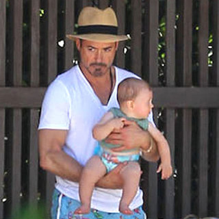 Robert Downey Jr.'s Baby Exton | Pictures
