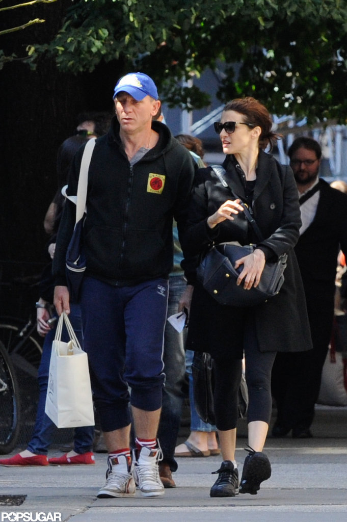 Daniel Craig and Rachel Weisz Get in Shape For a Busy, Bond-Filled Fall