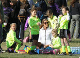 Denise Richards was a sideline fixture at her oldest daughter Sam's soccer games.
