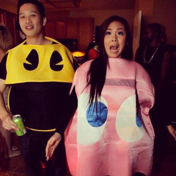 Pacman and Pinky