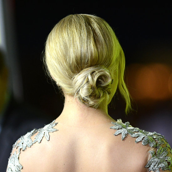 How to Style Abbie Cornish's Twisted Bun