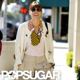 Jessica Biel shopped in LA.