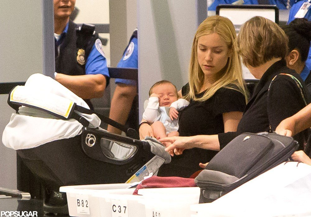 Kristin Cavallari traveled with Camden Cutler.