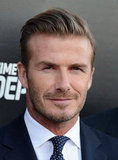 "David Beckham Talks Harper: She ""Kicks a Ball"" and ""Carries Handbags"""