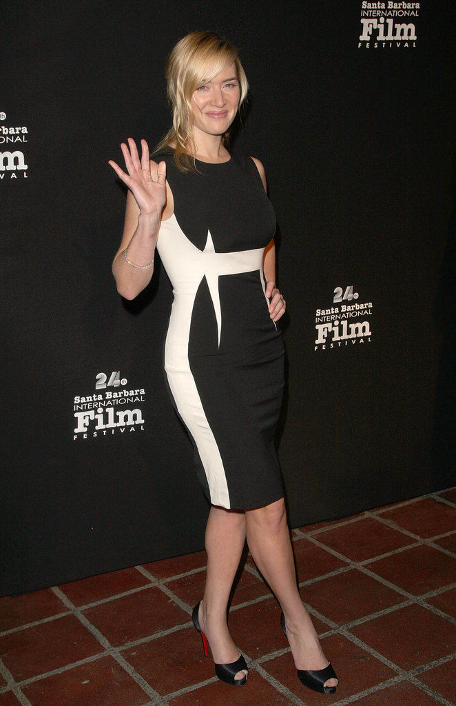 Kate Winslet was all smiles at the January 2008 Santa Barbara Film Festival.