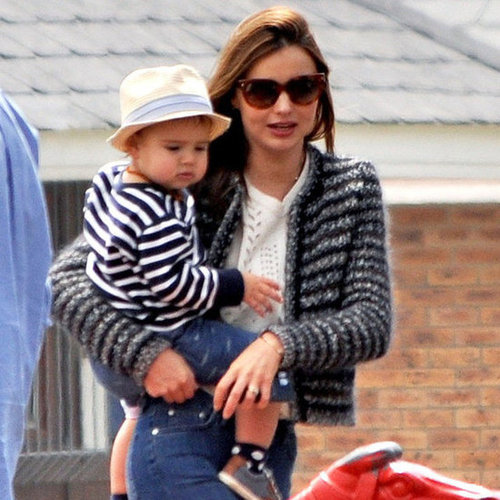 Miranda Kerr and Flynn Bloom on a Park Date | Pictures