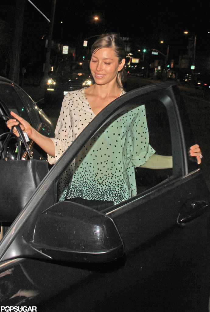 Jessica Biel Flashes Her Rock in the Run-Up to Her Wedding