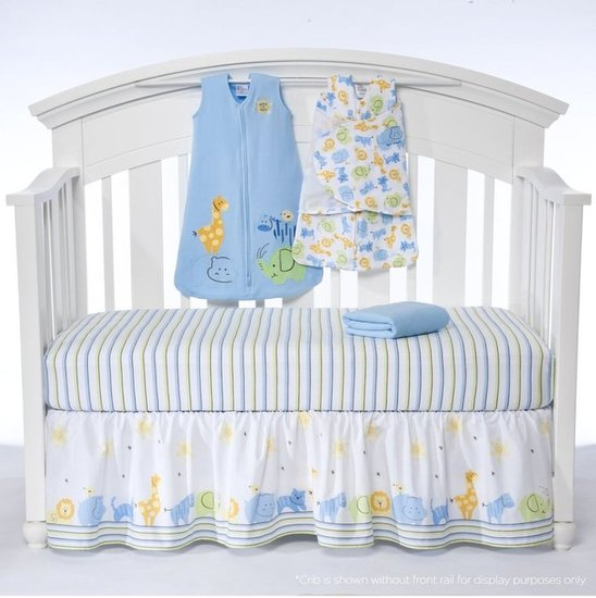 HALO SleepSack 5-Piece Bumper-Free Crib Set