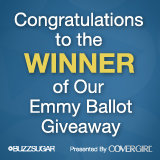 Congratulations to the Winner of Our Emmy Ballot Giveaway!