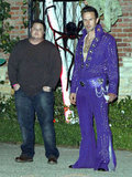 David Arquette was Elvis at Kate Hudson's 2011 party in LA.