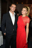 Stavros Niarchos and Jessica Hart attended the Studio in a School's 35th Anniversary Gala at NYC's Seagram Building.