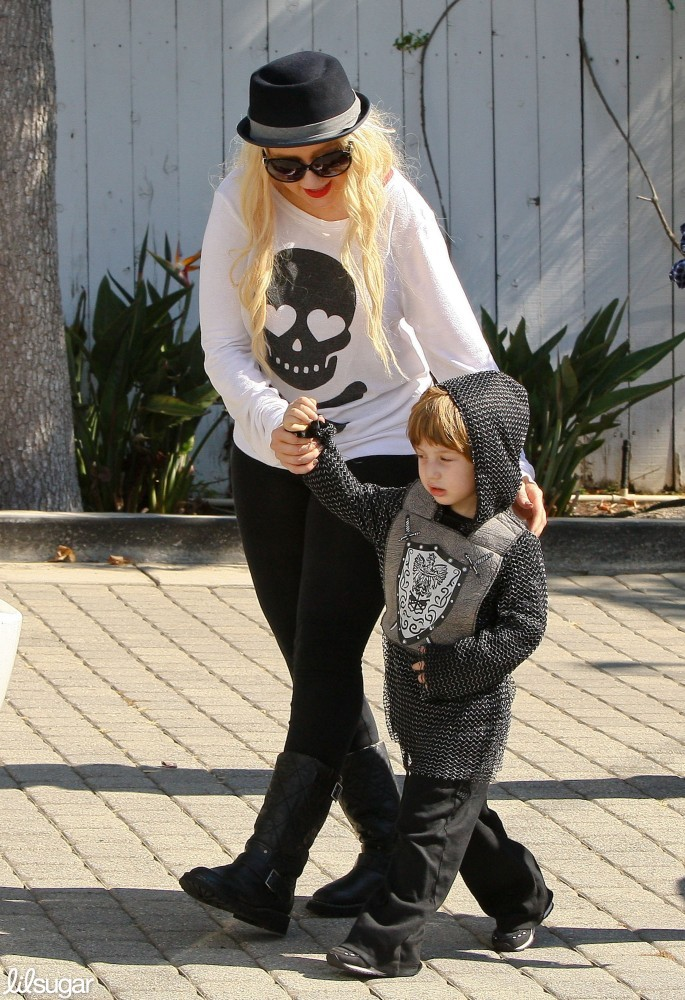 Christina Aguilera and Max Bratman