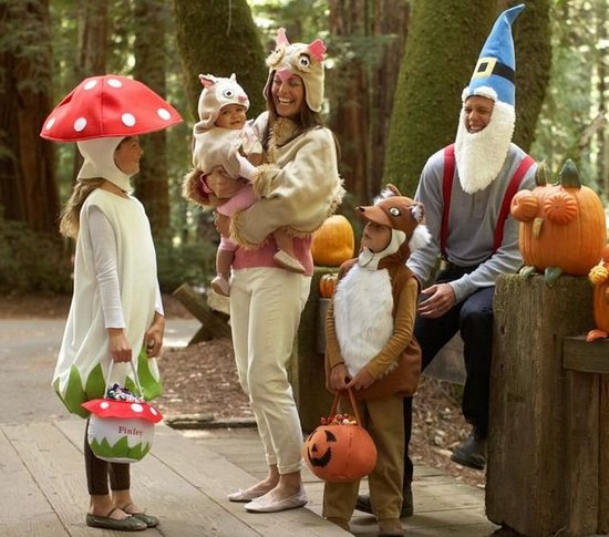 Woodland Family Costume