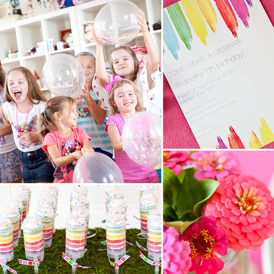 Come, Create, Celebrate! A Simply Stylish Birthday Party