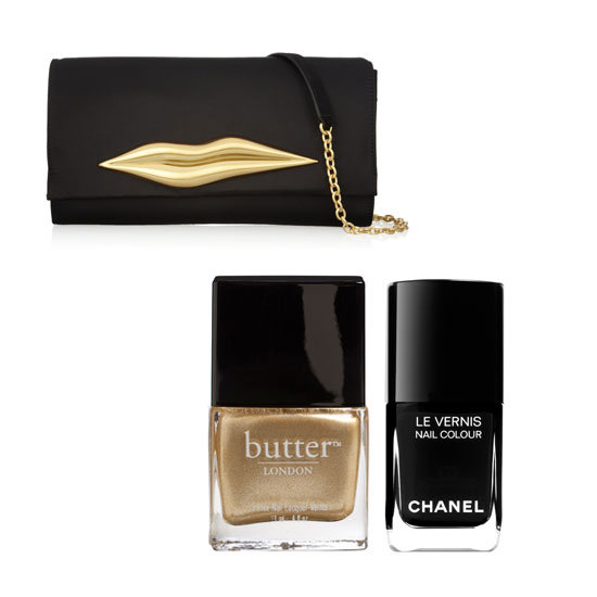 Nail the Look: Diane von Furstenberg's Carolina Lips Clutch