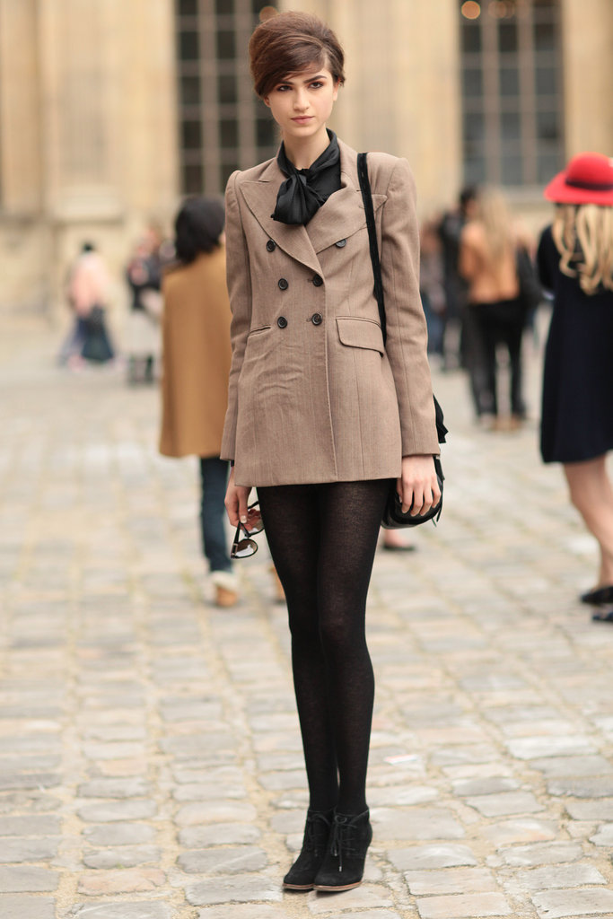 The Best Street Style From Paris Fashion Week Spring 2013 Popsugar Fashion