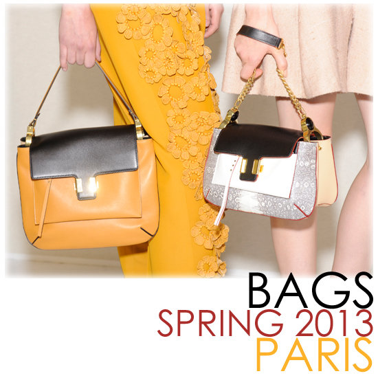 Spring 2013 Bags | Paris Fashion Week