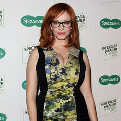 Christina Hendricks Pictures in Sydney at 2012 Specsavers Spectacle Wearer of the Year Competition Launch