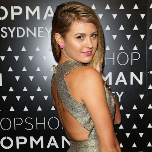 Pictures of Celebrities Dressed Up for the Topshop Sydney George St Store Opening Party;