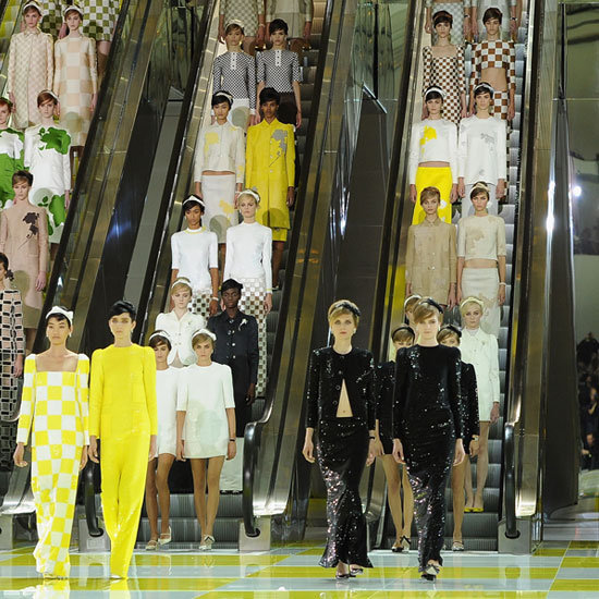 2013 Spring Paris Fashion Week: Louis Vuitton