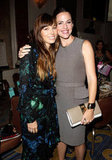 Jessica Biel met up with Jennifer Garner.