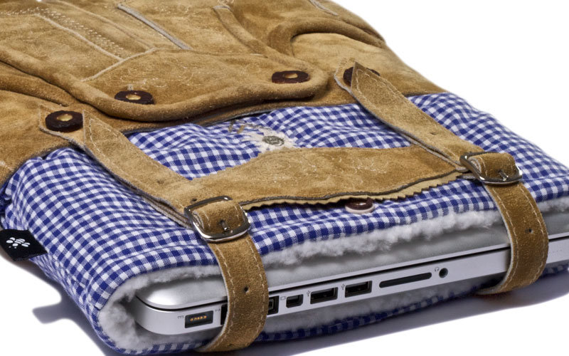 Lederhosen Laptop Sleeve