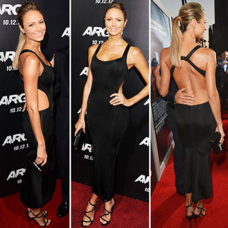 Where To Buy A Sexy Black Dress Like Stacy Keibler's