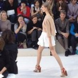 We loved the breezy silhouettes at Chloé's Spring '13 show.