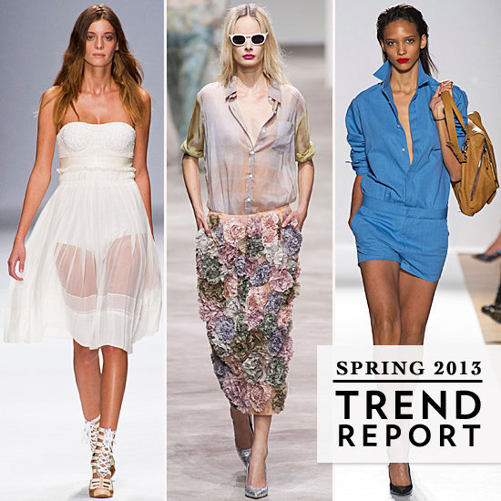 We wasted no time breaking down the trends from Paris Fashion Week.