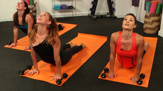 Get Strong and Centered: 10-Minute Yoga Series Using Weights