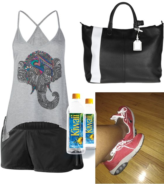 Womens Gym Bag With Separate Shoe Compartment