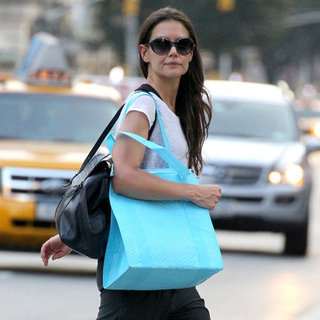 Katie Holmes at Soul Cycle in NYC Pictures